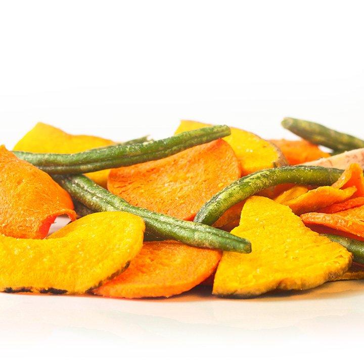 Combinado 5 verduras frito con sal